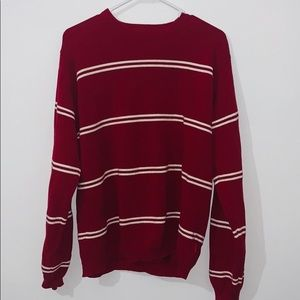 IZOD striped sweater